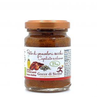 Pesto Rosso di Pomodoro Secco Capuliato BIO - 90 gr
