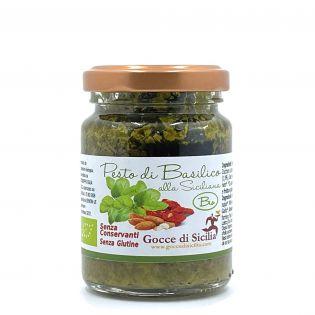 Pesto di Basilico alla Siciliana BIO - 90 grammi