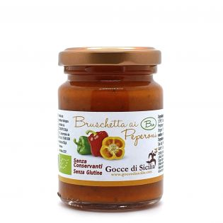 Organic Sweet Bell Peppers Patè - Ready to eat
