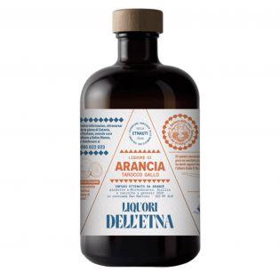 Liquore di arancia Tarocco Gallo dell'Etna - 50 cl
