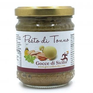 Tuna Pesto with Almond and Caciocavallo