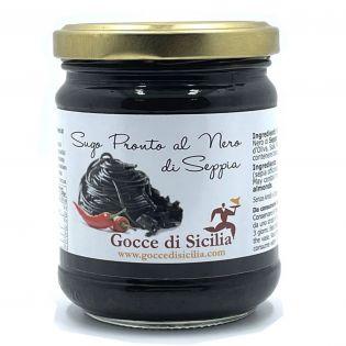 Squid ink sauce