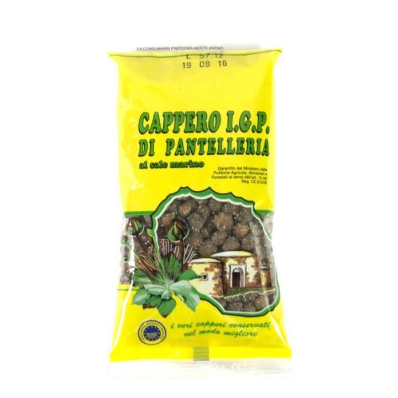 IGP Capers in salt - Small size Bag of 200 gr.