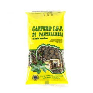 IGP Capers in salt - Medium size Bag of 200 gr.