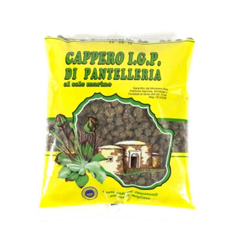 IGP Capers in salt - Small size Bag of 500 gr.