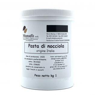 """""""Hazelnuts Paste"""" - Semi-finished product - Base for ice cream 1 Kg"""