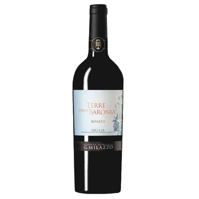 Terre della Baronia 2019 Organic rosè wine - Milazzo