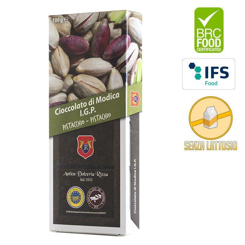 I.G.P. Modica chocolate pistachio