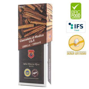 Cioccolato di Modica I.G.P. alla Cannella in vendita su Gocce di Sicilia