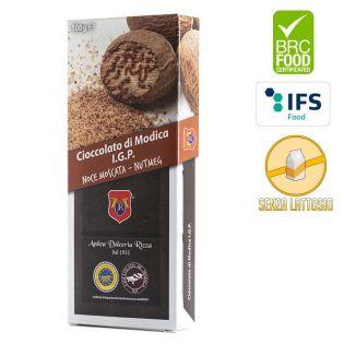 I.G.P. Modica chocolate with nutmeg