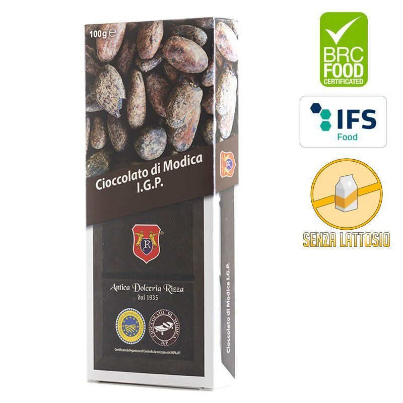 I.G.P. Chocolate of Modica Traditional