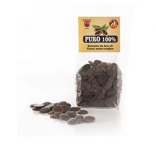 100% Pure Cocoa Paste.