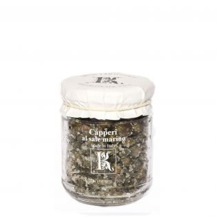Capers from Pantelleria in salt