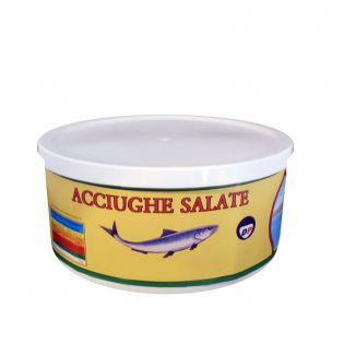 Filetti di Acciughe salate - 850 grammi