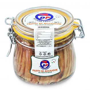 Anchovy fillets in Olive oil - 580 grams