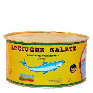 Filetti di Acciughe salate - 1.75 Kg