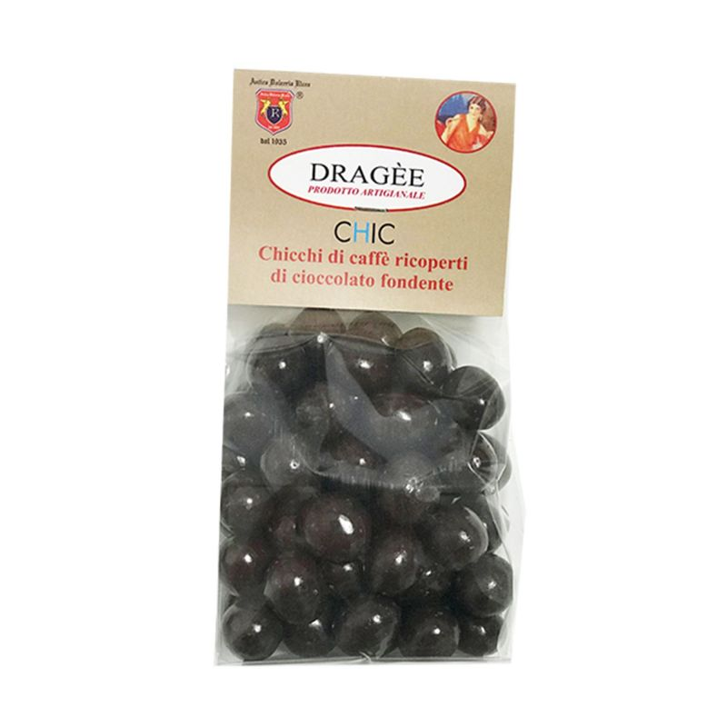Dragee Coffee beans covered with dark chocolate
