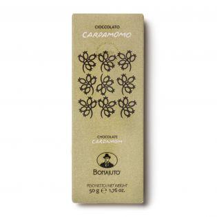 Cioccolato fondente al Cardamomo - Antica Dolceria Bonajuto