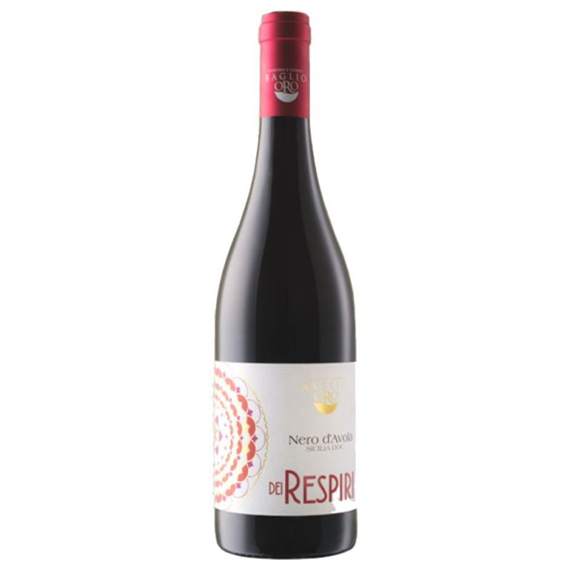 Dei Respiri Nero d'Avola Sicily DOC Red Wine 2019