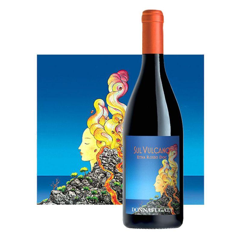 Sul Vulcano 2017 Etna Doc Red Wine Donnafugata
