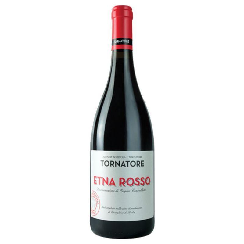 Etna Rosso DOC 2018 Sicilian Red Wine - Tornatore