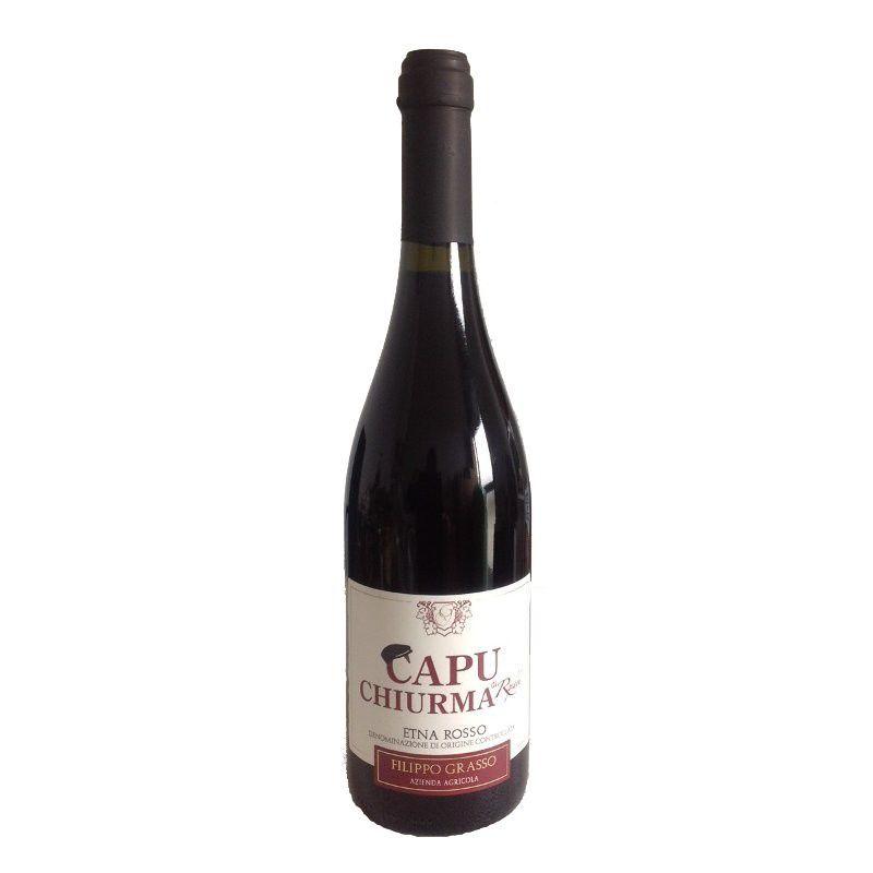 "Wine ""Capu Chiurma"" DOC 2014 -  ""Az. Grasso"""