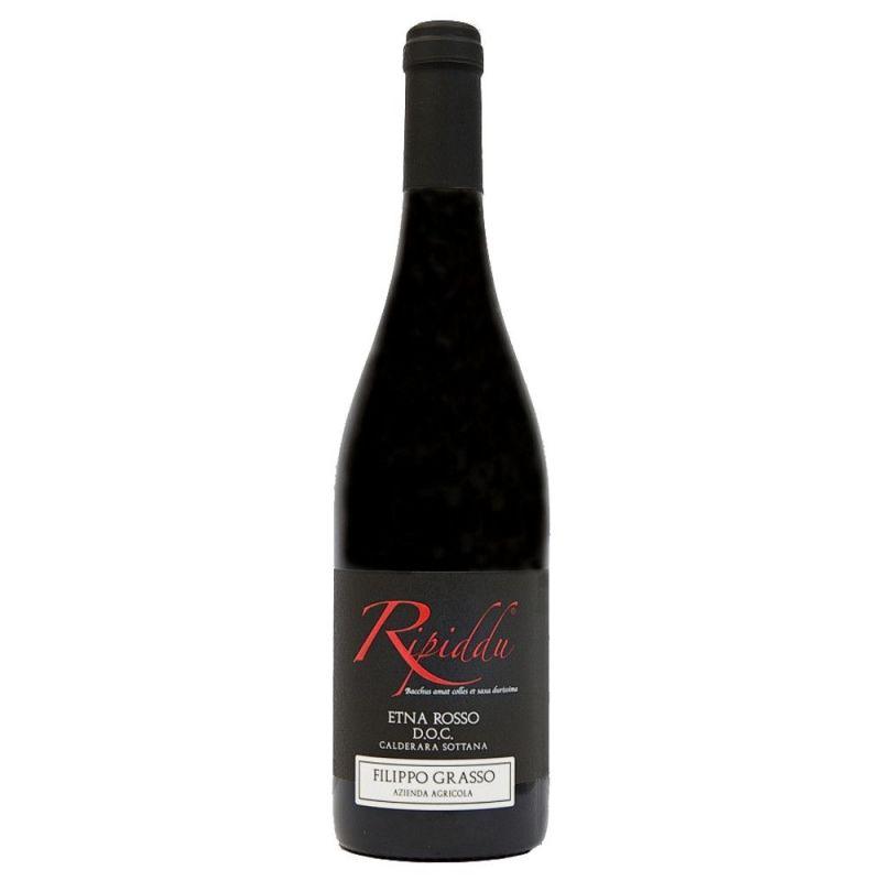 """Wine """"Etna Rosso"""" DOC - Ripiddu 2015 - """"Az. Grasso"""""""