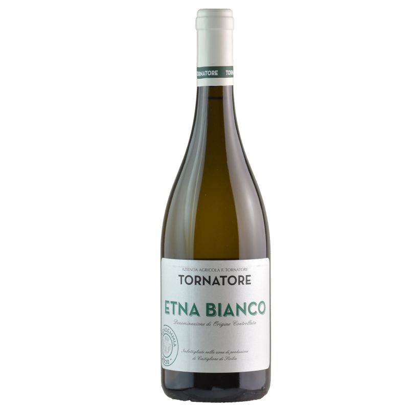Etna Bianco DOC 2020 Sicilian White Wine - Tornatore