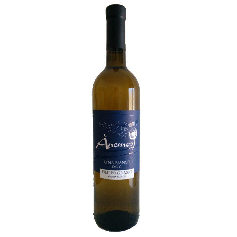 "White Wine ""Etna Bianco""  - Anemos 2016  - ""Az. Grasso"""