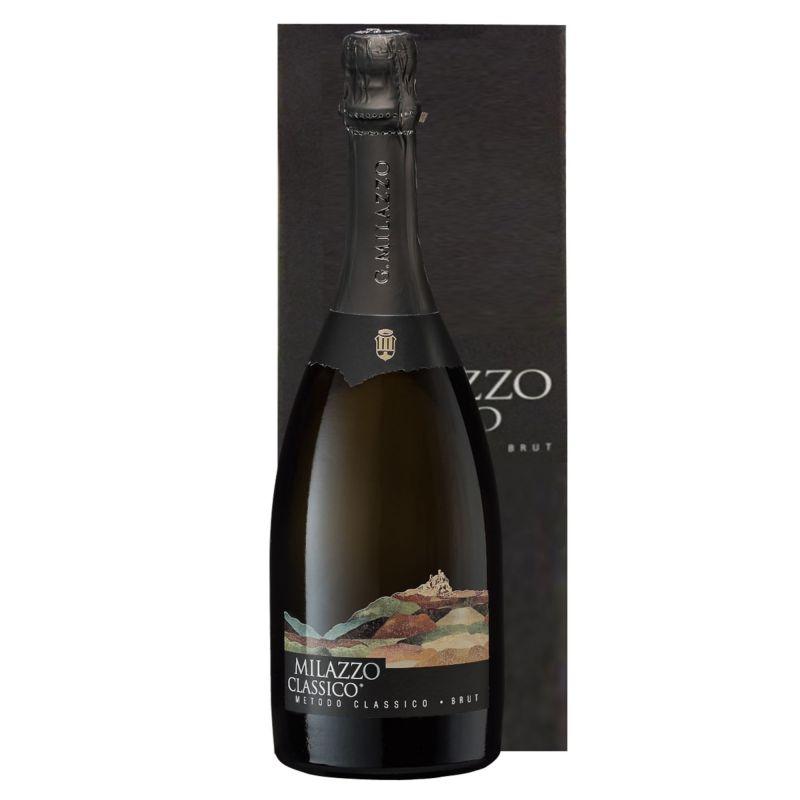 Milazzo Metodo Classico with case - Sparkling Wine V.S.Q. - Az. Milazzo