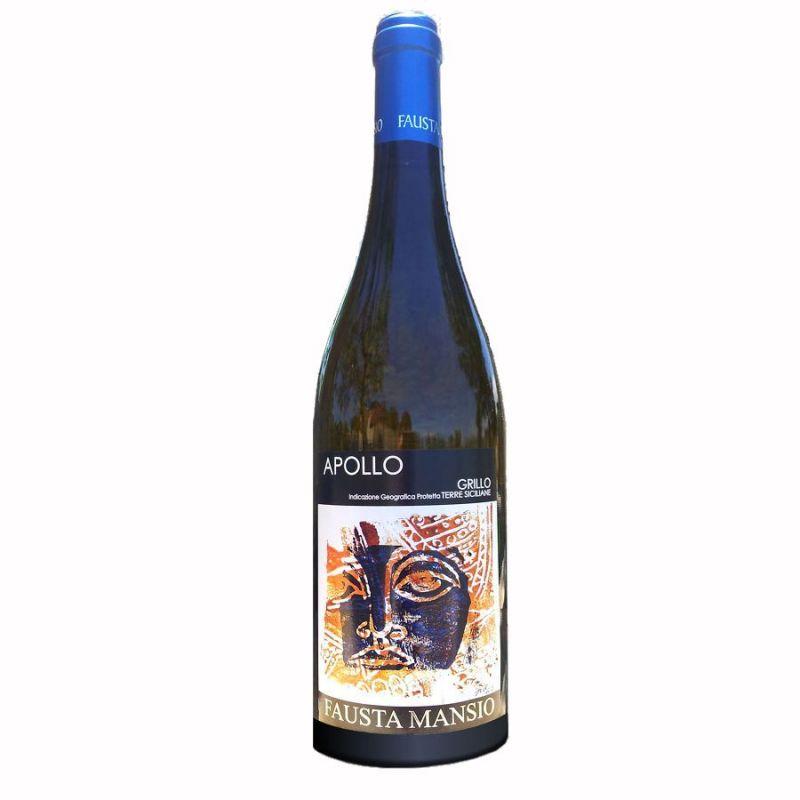 Apollo Organic white wine D.O.C. Sicilia 2017 - Fausta Mansio