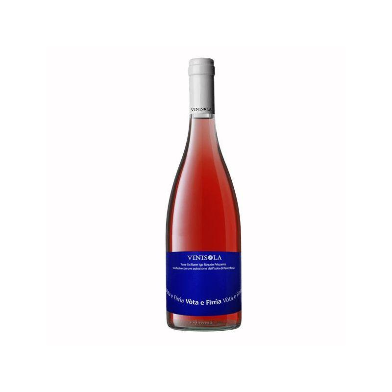 Vota e Firria Sparkling Rosé Wine 2017 Terre Siciliane Igp -  Vinisola