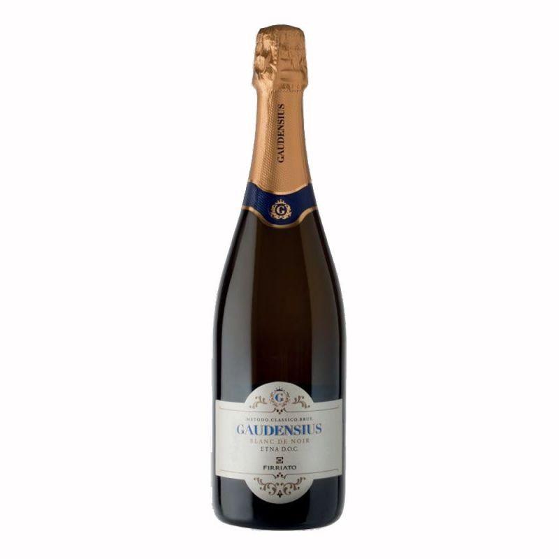Gaudensius Blanc de Noir Etna Doc Brut Sicilian Sparkling Wine - Firriato