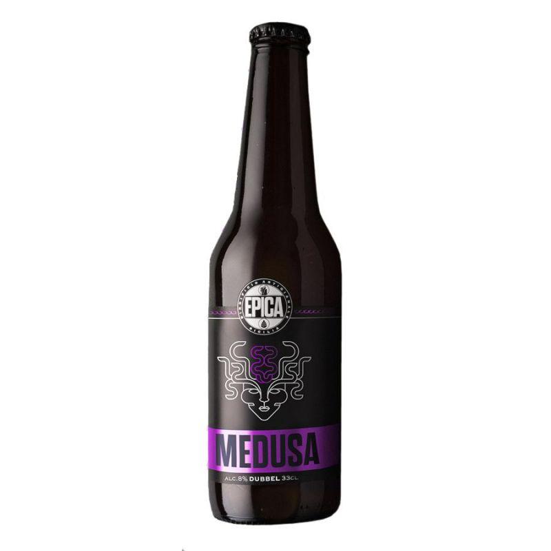 Medusa Dubbel 75cl. - Sicilian Beer