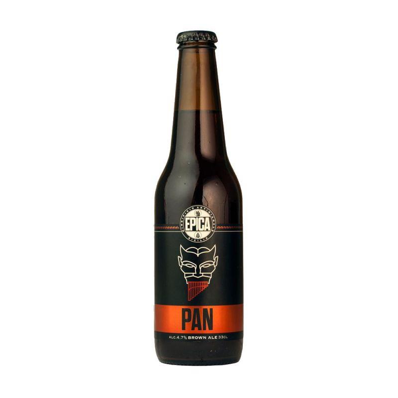 Pan Brown Ale 33 cl. - Sicilian Beer
