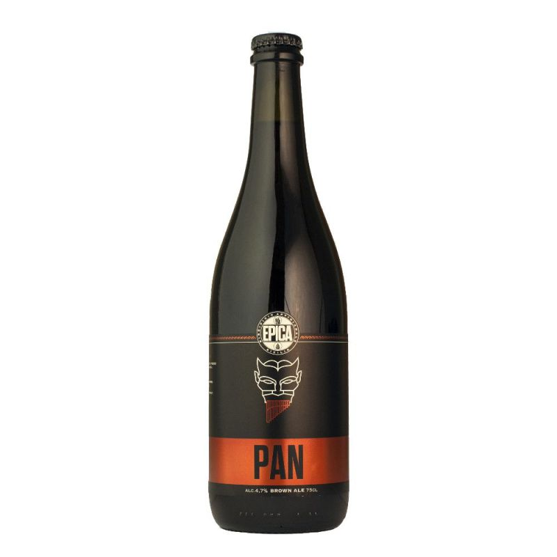 Pan Brown Ipa 75cl. - Sicilian Beer