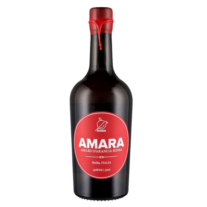 Amaro Amara 50 cl -Sicilian Bitter Liqueur