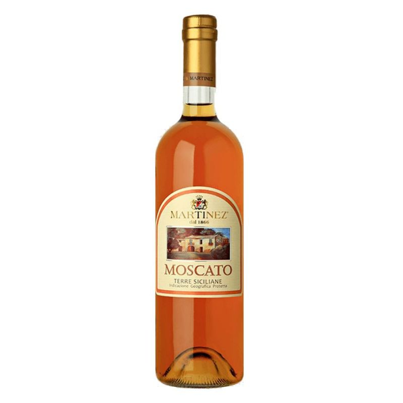 """Moscato Dessert Wine - Typical Geographic Indication - """"Sicily"""""""