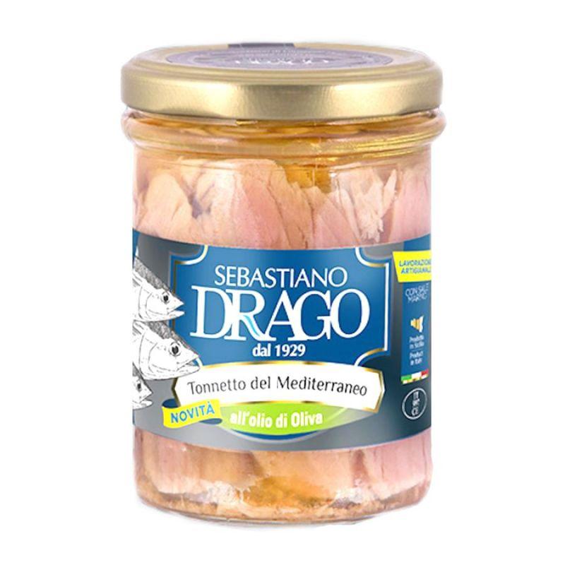 Mediterranean Tuna Fillets in Olive Oil