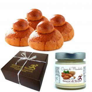 Box with Tuppo - Your Almond Brioche