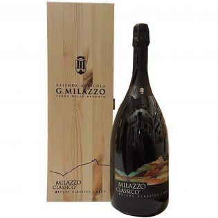 Milazzo Classico Magnum - Vino Spumante Brut V.S.Q. Metodo Classico