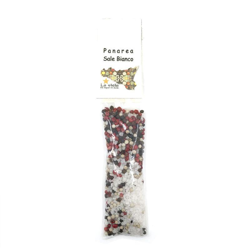 Flavored White Salt PANAREA Condiment - 70 gr