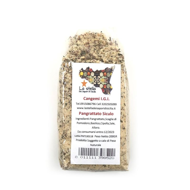 Sicilian Breadcrumbs - Bag of 200 gr