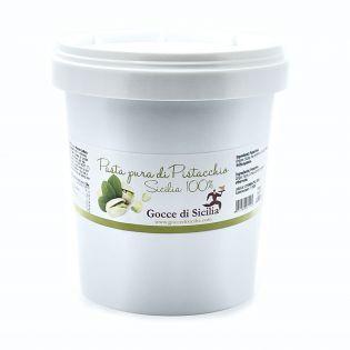 Pasta di Pistacchio Sicilia 1 Kg - Semilavorato Base per gelato