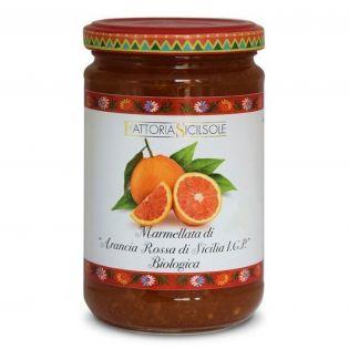 Organic Sicilian I.G.P. Red Orange Jam