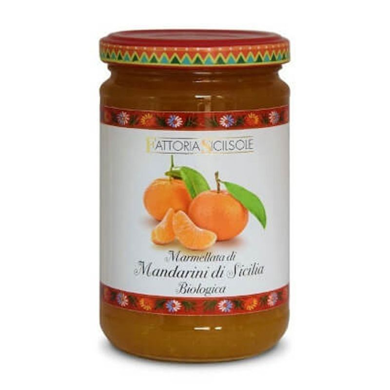 Organic Red Orange Jam