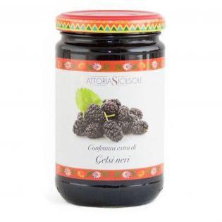 Extra Jam Black Mulberries of Sicily