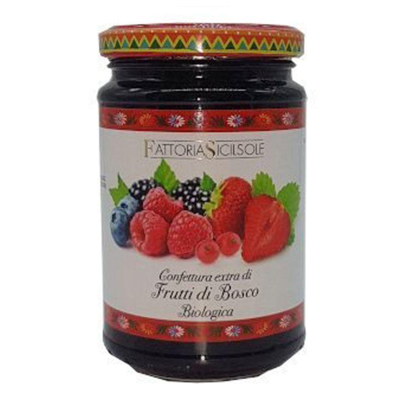 Extra Jam Berry Fruit of Sicily ORGANIC
