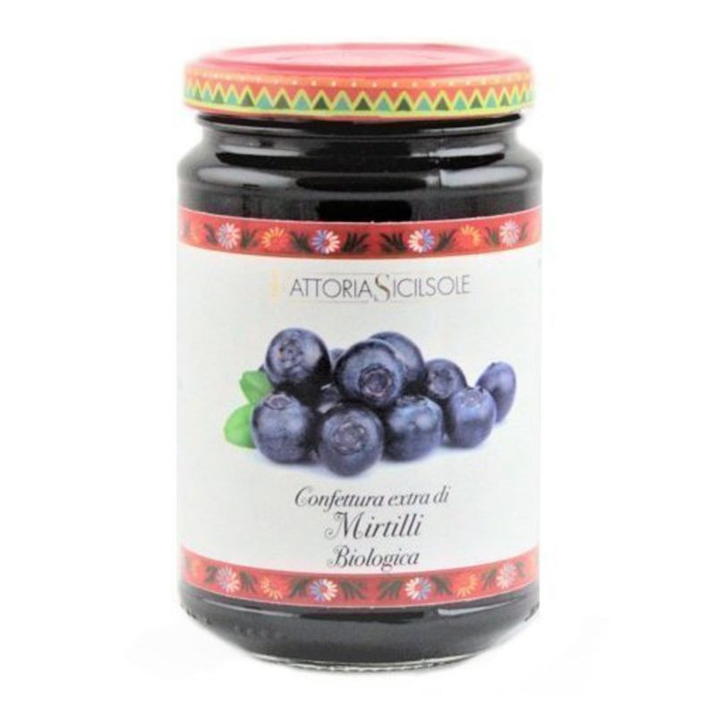 Blueberries Extra Jam ORGANIC