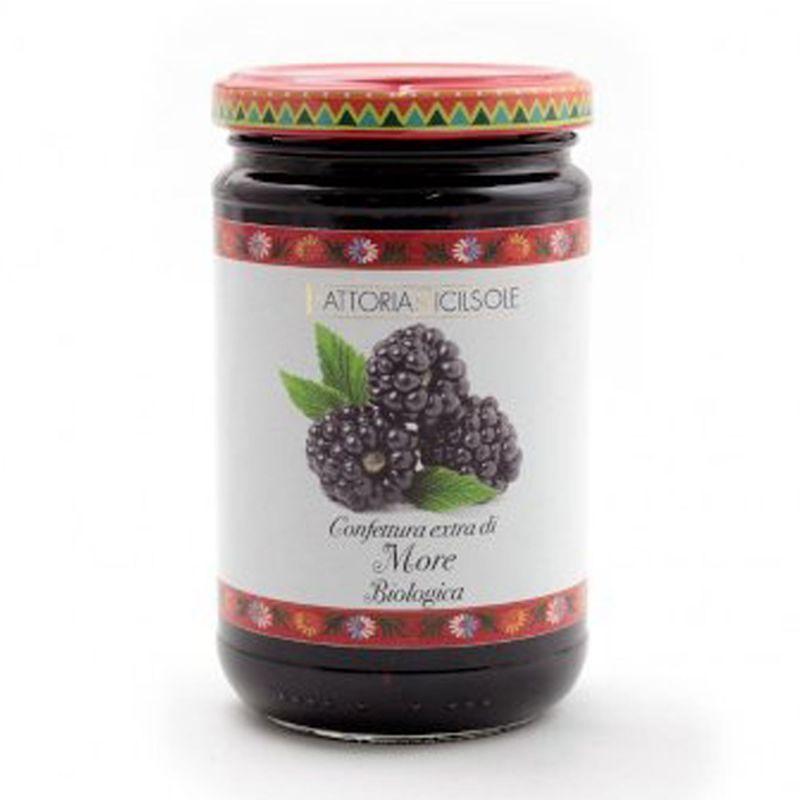 Organic Blackberries Extra Jam